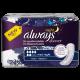 Always Discreet for Sensitive Bladder Maxi Night Pads 4x6 Carton